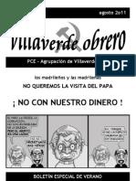 Villaverde Obrero - Número 2 - Agosto 2011