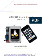 Mini2440 User Manual