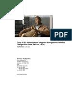 Cisco UCS C-Series Servers Integrated Management Controller Configuration Guide 1