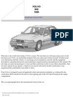 Volvo 940 Owners Manual 1995
