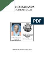 Swami Sivananda-A Modern Sage