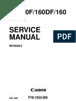 Canon GP160_F160_DF160 Service Manual