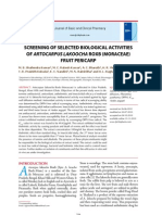 Artocarpus Lakoocha Antioxidant and Antimicrobial