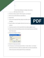 Algorithm for Mail Merge 1
