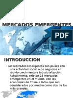 Mercados Emergentes Power Point