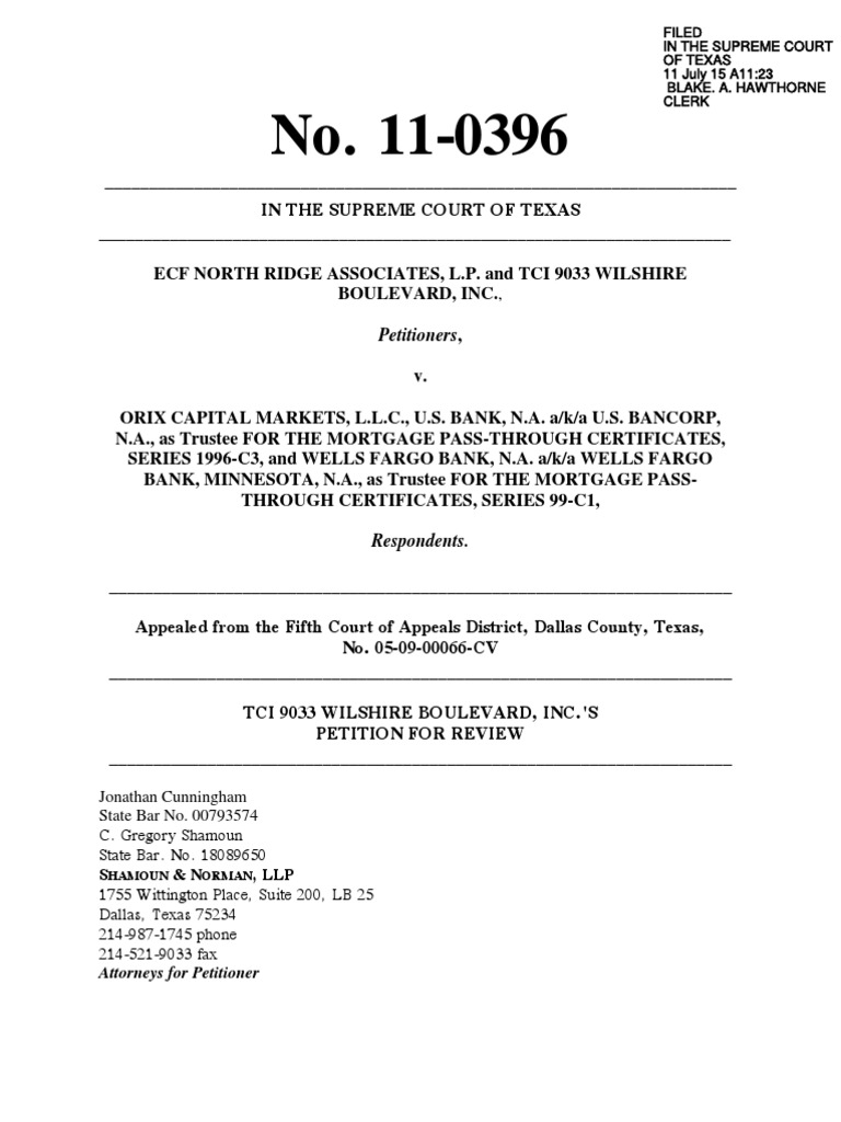 Orix tci petition for review and appendix file stamped copy1 orix tci petition for review and appendix file stamped copy1 standing law lawsuit 1betcityfo Image collections