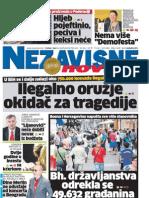 Dnevne nezavisne novine [broj 4635, 6.-7.8.2011]
