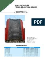 Sedes Judiciales Poder Judicial Corte de Lima
