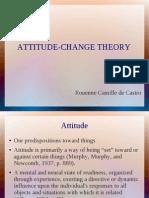 Attitude Change Theory
