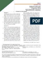 TRABALHO DOMICILIAR - TD02 - 3ª SÉRIE