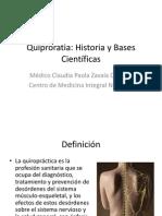 Quiproratic Historia - Bases científicas