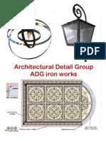 ARC Detail Group Decorative IRON Catalog Publication UNCUT