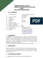 Sr. Chuima - Universidad Cesar Vallejo Silabo