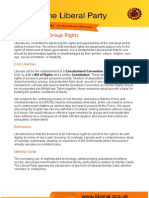 Individual and Group Rights