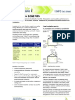 Insulation Benefits