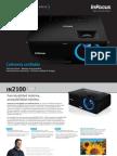 InFocus IN2100 Series Datasheet ES