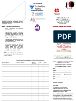 Sickle Cell Walk Pledge form