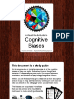 A Visual Guide to Cognitive Biases by Eric Fernandez