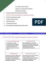 International Marketing2_SS 2011 (English)5-10