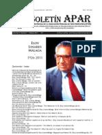 Boletin APAR Vol 2 No 7 Febrero 2011