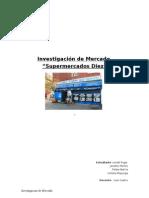 Investigacion de Mercado Supermercado Diez