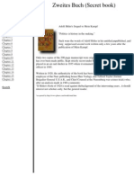 Aldolf Hitler - New World Order (Die neue Weltordnung) - 1928 [Secret and Banned Book of Adolf Hitler]