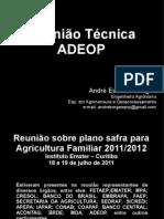 Apresentacao - Reuniao 01 08 2011 - Primeira Parte