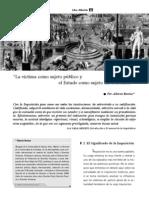 La víctima como sujeto público y el Estado como sujeto sin Derechos. Alberto Bovino