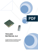 Teclado Matricial 4x4