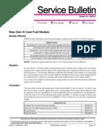 Mercury Bulletin Fuel Module