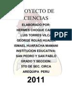 PROYECTO DE CIENCIAS