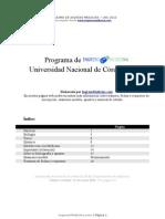 Programa Ingreso Medicina UNC - 2012