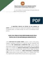 A%C3%A7%C3%A3o Civil Publica de Improbidade JOSE WILDE