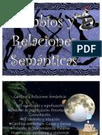 Cambios y relaciones Semánticas