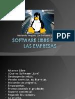 Negocios y Software Libre
