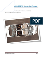 Nissan 300zx VH45DE V8 Conversion Process (28 Nov 2009)