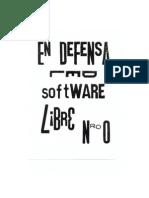 En Defensa Del Software Libre Nro0