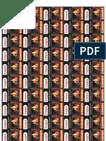 Hoja adhesiva prueba de impresión (fuego)