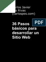 36 Pasos Basicos Para Desarrollar Un Sitio WEB