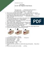 04 SD IPA Semester 1 - Bab 1 Fungsi Alat Tubuh Manusia [Soal+Jawaban]