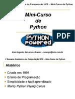 Mini Curso de Python
