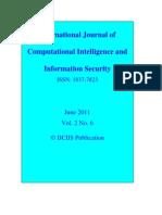 IJCIIS June 2011 Vol. 2 No. 6