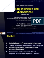 Linking Migration and Microfinance