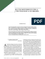 Movimento Pela Inovacao Tecnologica No Brasil