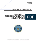 Design - Refrigeration System for Cold Storage