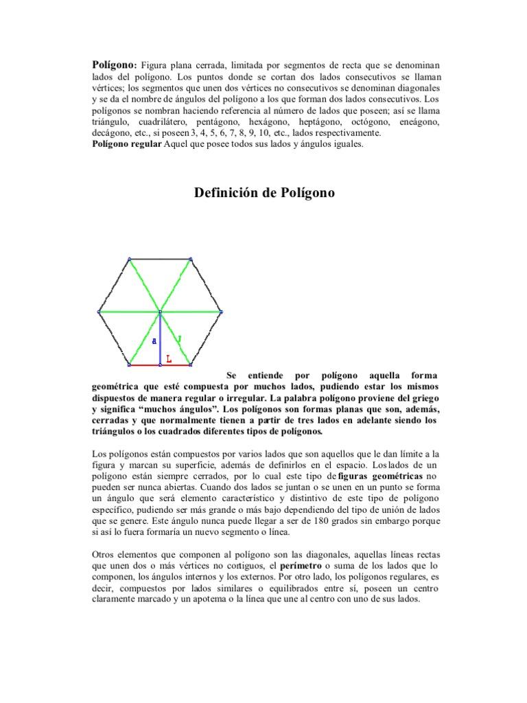 Pol gono definicion clasificacion propiedades y construccion for Inmobiliaria definicion