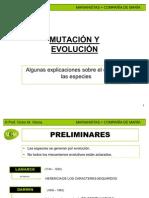 Mutacion y Evolucion Mcm