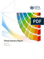 Paint Industry Report - SPA Sec - 15 June 2011