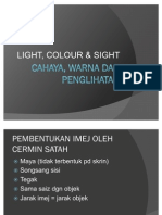 Cahaya, Warna Dan Penglihatan