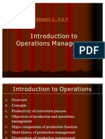 1. A. F. Concepts -Introduction to operations Management